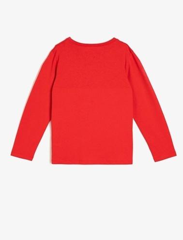 Koton Kids Atatürk Baskılı T-Shirt Kırmızı